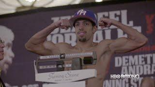 Corrales vs. Machado Weigh-In Recap