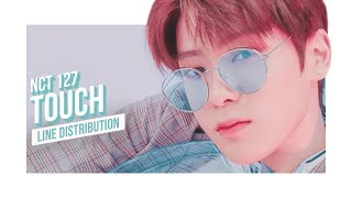 NCT 127 - TOUCH Line Distribution (Color Coded) | 엔시티 일이칠 - 터치