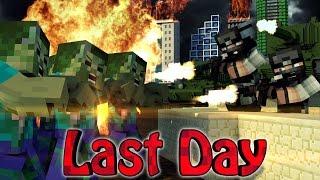 Minecraft | LAST STAND APOCALYPSE MOD Showcase! (3d Guns Mod, Day Z Mod, Zombies)