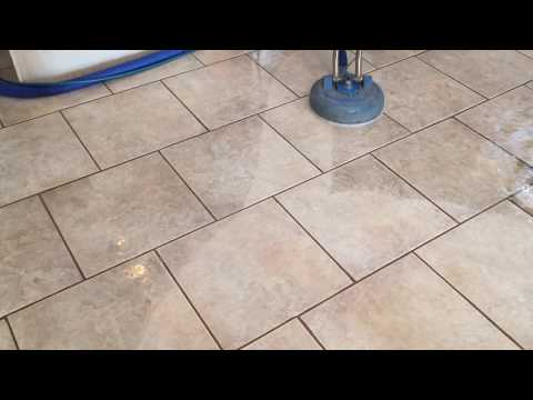 Tile and Grout Cleaning 51 Second Video Demo - Las Vegas, NV 89119