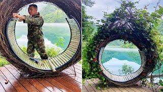 Creative idea craft use Bamboo Make swing , Chair, ... DIY 2021