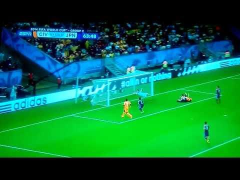 Ivory Coast 2-1 Japan