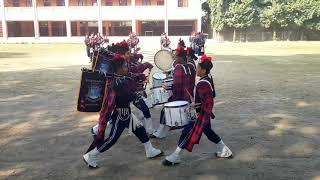 Bagpipes of Suryodaya English School Damak, Jhapa Nepal (Practise Time)