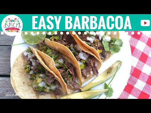 How to make BARBACOA  | Mexican Food - Spicy Latina Mom