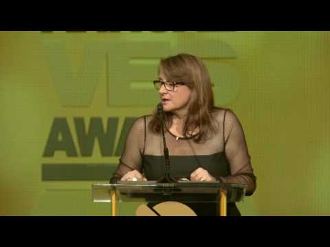 Victoria Alonso Presented with VES Visionary Award