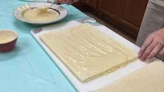 Ukrainian Waffle Cake