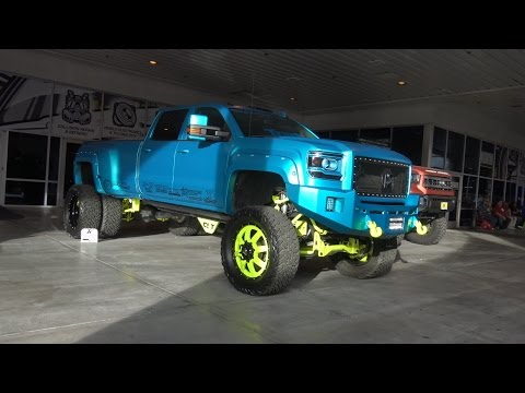 Craziest Builds of SEMA 2015