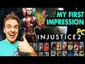 Injustice 2 PC: Ultimate Edition. GOT THE GAME FOR HALF PRICE. First Time Playing, First Impression.