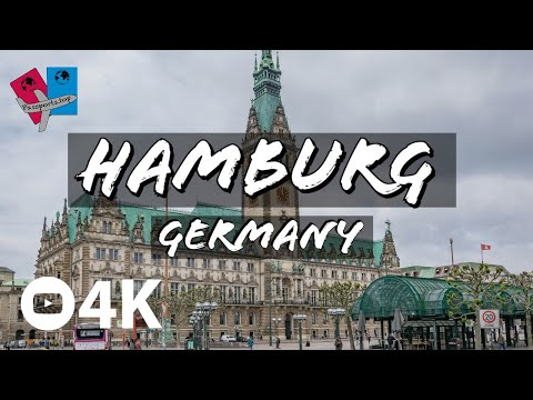 Top tourist attractions in Hamburg - Germany 4K