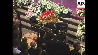 Funeral of Christian televangelist Jerry Falwell