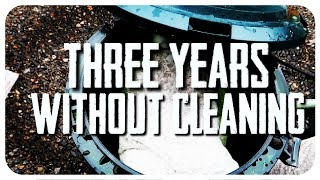 Three Years Without Cleaning Canister Filter!!!
