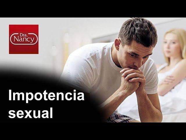 Impotencia sexual