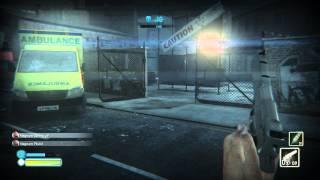 ZombiU - King of the Zombies: Killing Box on Brick Lane Map, Spitters, SA80a2 AR, Health Bonus Wii U