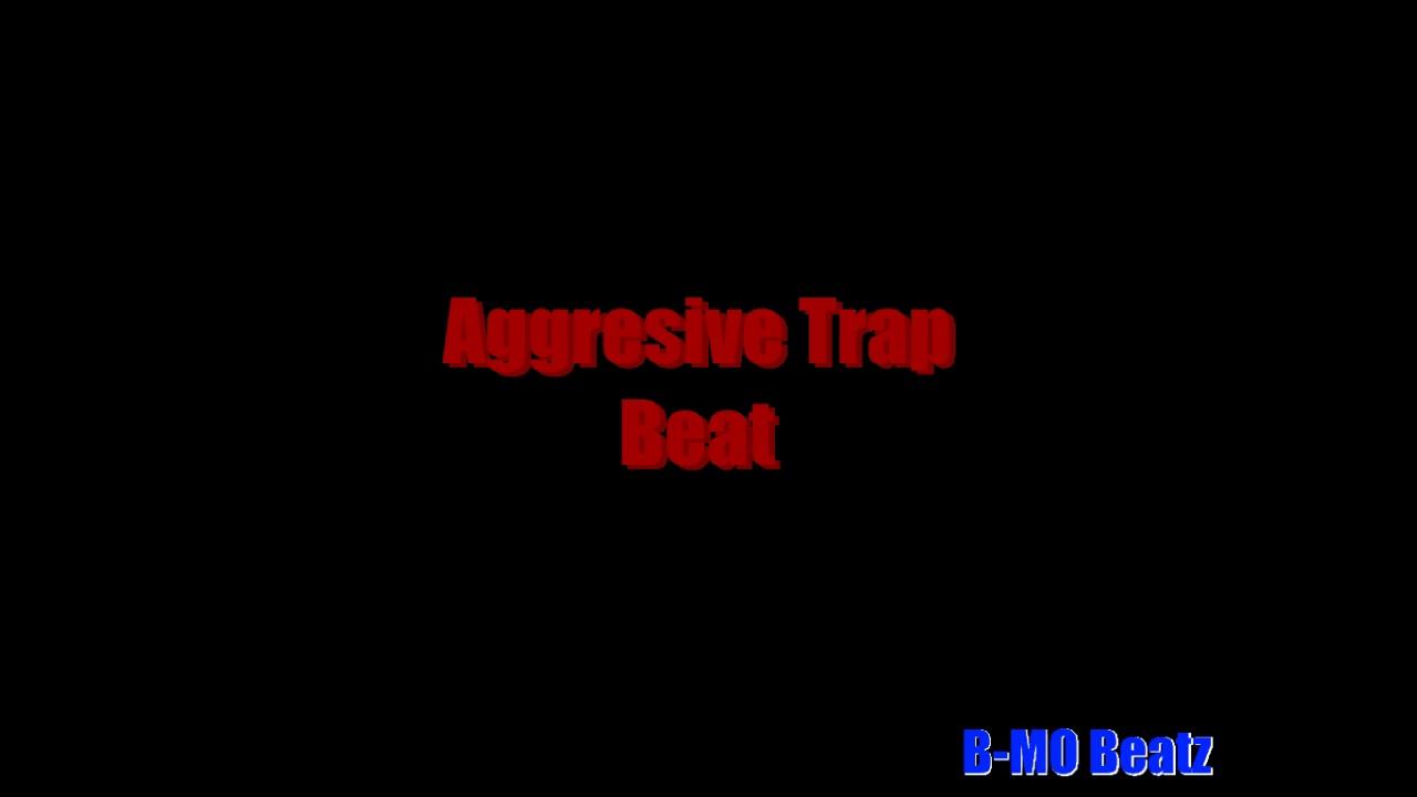 Aggressive Trap Beat 100 BPM