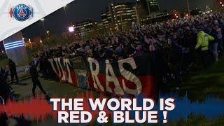 THE WORLD IS RED & BLUE !