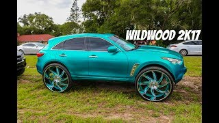 Wildwood 2k17 in HD (big rims, old schools, sports cars, foreigns, pickups)