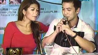 24oras: Maghahahain na ng   petition for divorce sina Geneva   Cruz at KC Montero