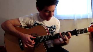 Titanic theme - My Heart Will Go On (Sungha Jung cover by Peter Gergely) [WITH TABS]