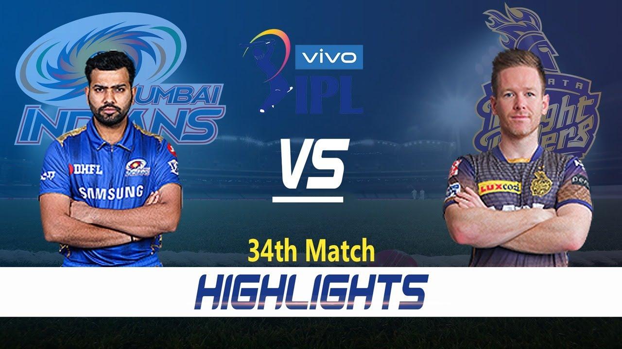 Mumbai Indians vs Kolkata Knight Riders Highlights | 34th Match | Indian Premier League 2021