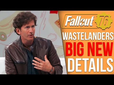 Bethesda Shares Big Details on Fallout 76's Wastelanders DLC - Single Player Mechanics, Companions