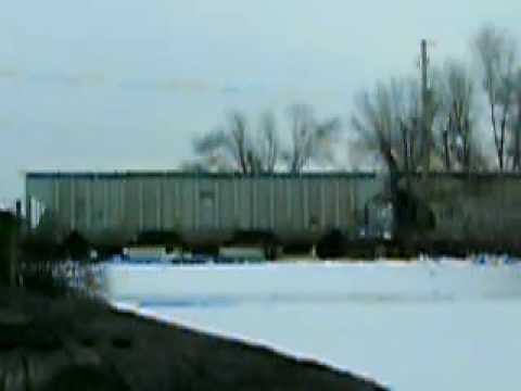Eastbound NS freight in Peru, IN