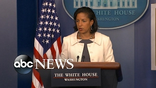 Susan Rice faces accusations of 'unmasking' Trump officials