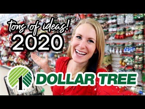 *NEW* 2020 DOLLAR TREE CHRISTMAS SECRETS! 🌟 (DIYs And Huge Stock Up!)