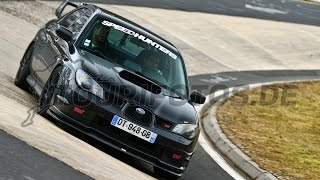 Subaru STI - Nürburgring Touristenfahrten 20.03.2016