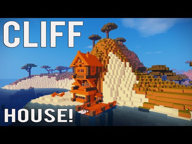 Minecraft How To Make A Cliff House Mountain House Tutorial 1 12 1 13 1 14 Ps4 Mcpe Xbox Ect Youtube
