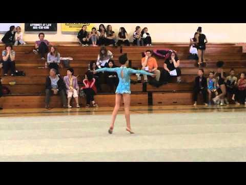Angelina Julfayan  2014 Floor Level 6 Rhythmic Gymnastics