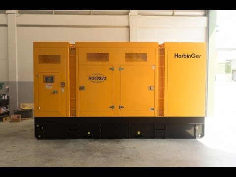 Test Load 100% HarbinGer Generator Set : HG625S3 625kVA@Prime Rating (HD)