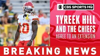 Tyreek Hill And The Chiefs Agree To An Extension Worth $54,000,000 | Breaking News | CBS Sports HQ