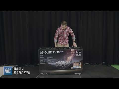 Unboxing The LG C9P OLED TV - YouTube