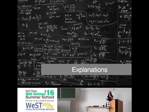 """""""Computational Social Science - Measurements & Explanations"""" by Claudia Wagner"""