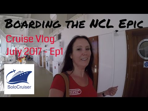 Travel and Boarding NCL Epic 7 day Cruise Barcelona - Vlog 1