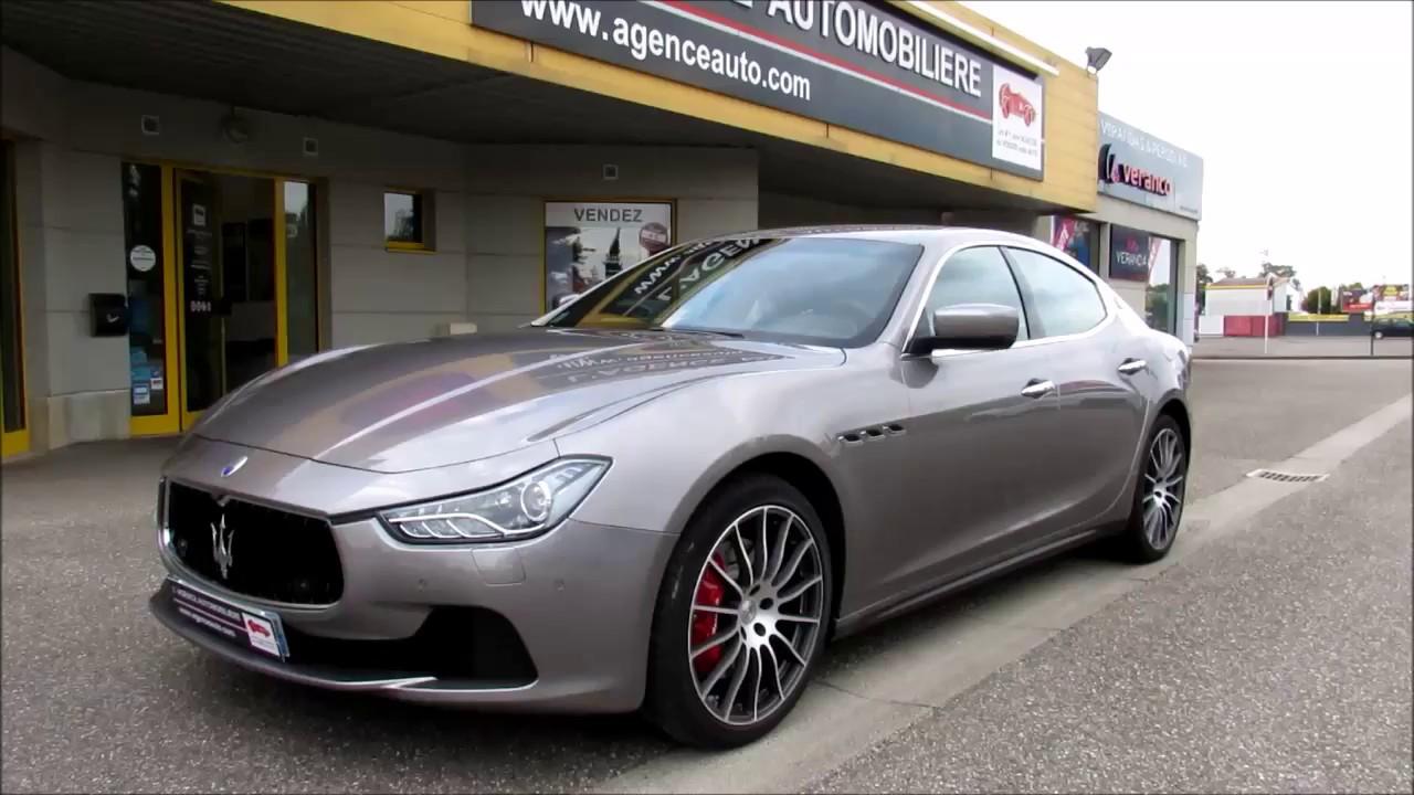 Maserati Ghibli 3 pack sport - YouTube