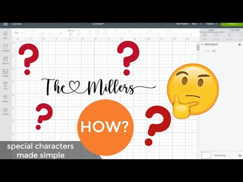 How To Get Special Characters On Fonts
