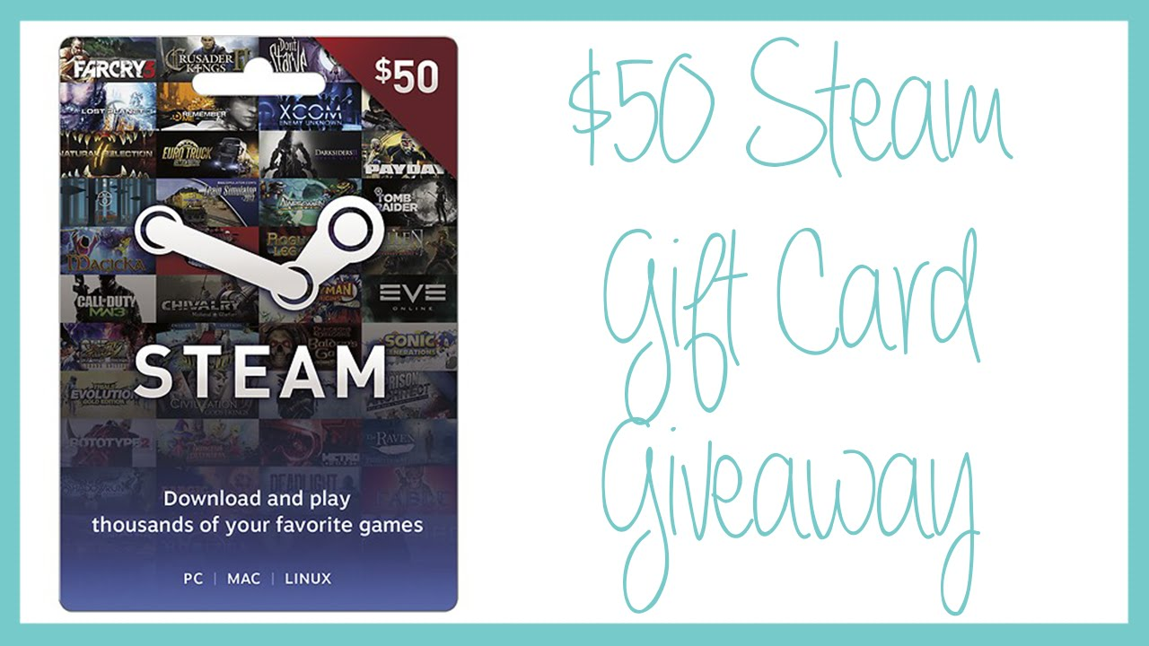 steam gift cards giveaway