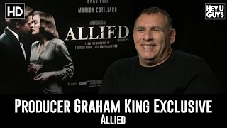 Producer Graham King Exclusive Interview - Allied