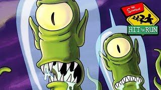 Simpsons Hit and Run Deutsch Gameplay #05 - Von Aliens entführt