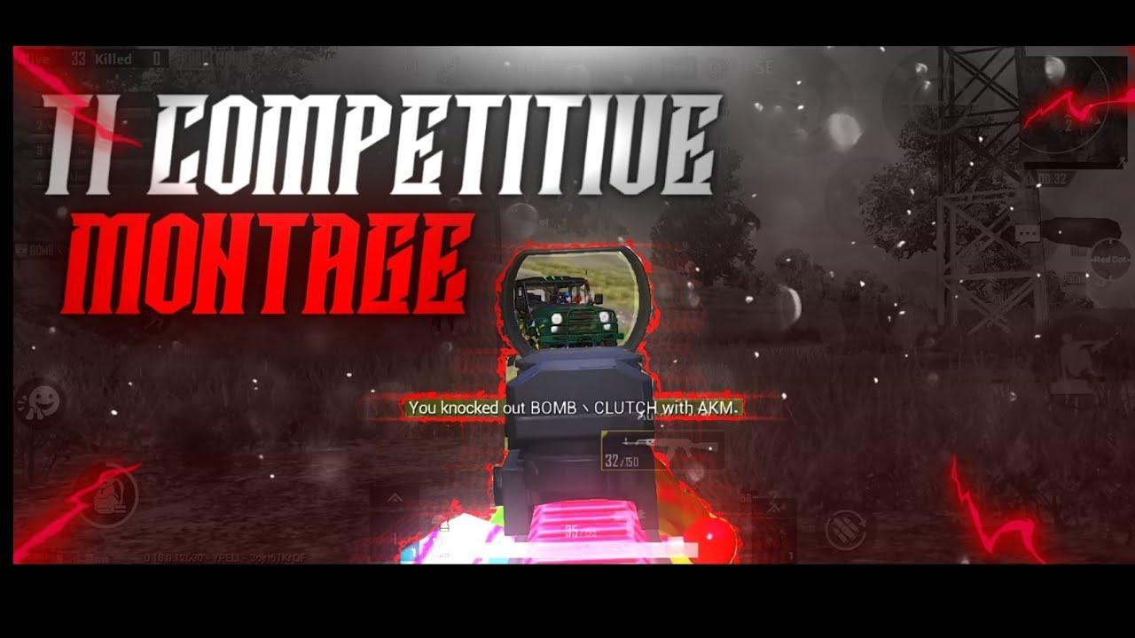 T1 Competitive Montage || Pubg Mobile Montage #15 || Zambie
