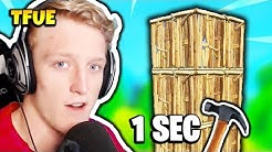 FaZe TFUE SHOWS FASTEST WAY TO BUILD 1x1's | Fortnite Daily Funny Moments Ep.156