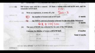 csec cxc maths past paper 2 question 2c may 2013 exam solutions act math sat math