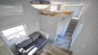 The Olivia 40ft Gooseneck Tiny Home By Tiny House Building Company | Living Design For A Tiny House