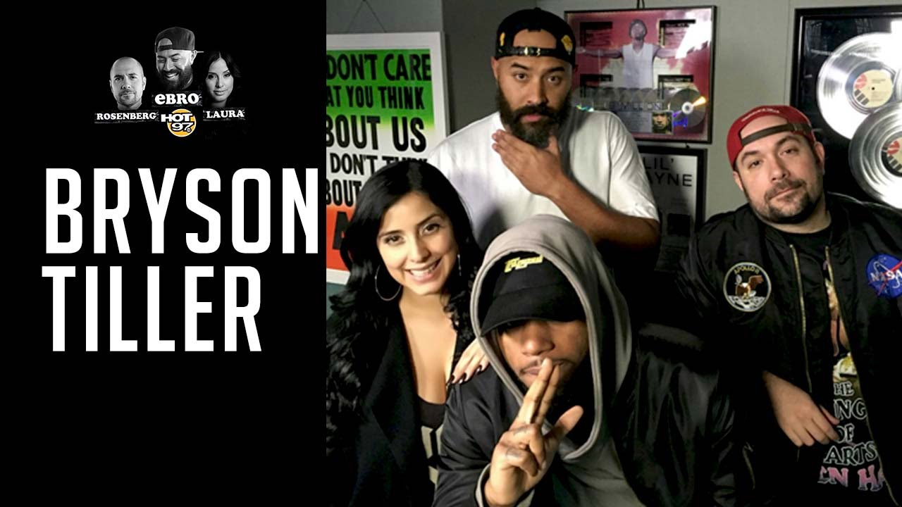 Bryson Tiller Talks About OVO, Love & Exes, Celebrity Tweets, Daughter + More On Hot97 (Audio)