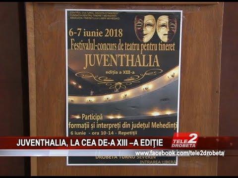 JUVENTHALIA, LA CEA DE A XIII –A EDItIE