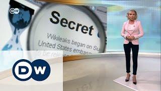Что объединяет платформу Wikileaks и Кремль   DW Новости (08 03 2017)