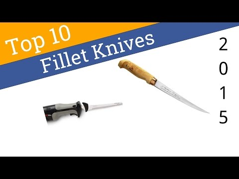 10 Best Fillet Knives 2015