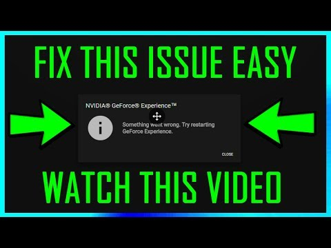 Download Nvidia Geforce Something Went Wrong 100 Working
