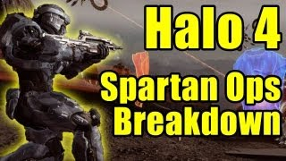 Halo 4 - NEW multiplayer/Spartan Ops breakdown / analysis